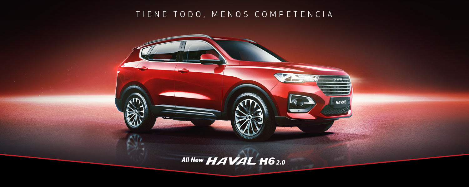 All New Haval H6 2.0 4x2 Active AT